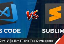 Vì sao tôi chuyển từ Visual Studio Code sang Sublime Text