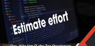 estimate effort