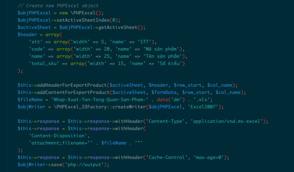 PHPExcel - Import và Export xử lý Excel | TopDev