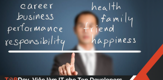 cân bằng công việc và cuộc sống lập trình viên