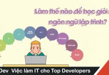 làm thế nào để học giỏi ngôn ngữ lập trình