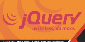học gì trong jquery