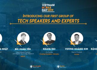 Tiết lộ nhóm Tech Speakers đầu tiên của chương trình Vietnam Mobile Day 2019