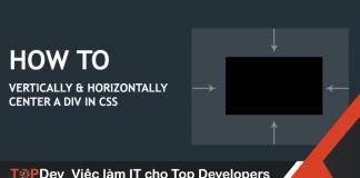 Căn giữa phần tử trong CSS