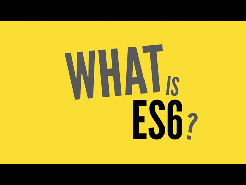 ES6 là gì
