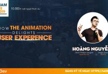 hoàng nguyễn Tối ưu UX/UI bằng Animation