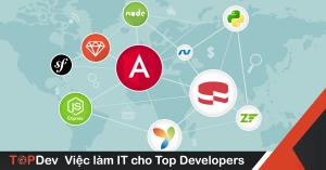 Top 8 Framework Web Development hot nhất 2019