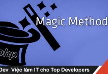 magic method trong lập trình PHP