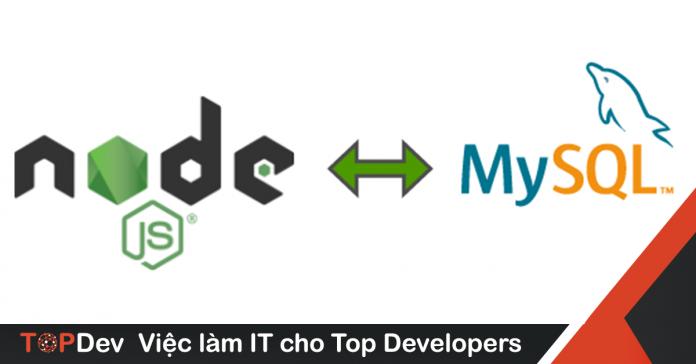 tạo ứng dụng với Nodejs và MySQL