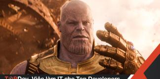 làm hiệu ứng búng tay Thanos