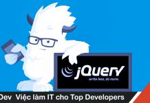 Cách code jQuery tối ưu
