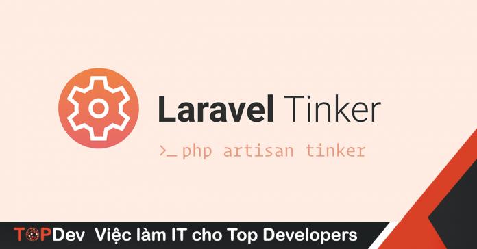 chạy Laravel Tinker ngay trên trình duyệt