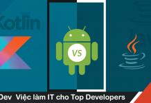 ngôn ngữ lập trình ứng dụng Android