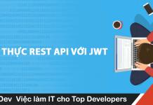 xác thực REST API với JWT