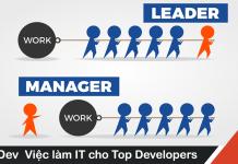 Sự khác nhau giữa Project Manager và Project Leader