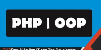 lập trình hướng đối tượng với PHP