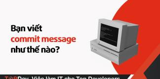 viết commit message như thế nào