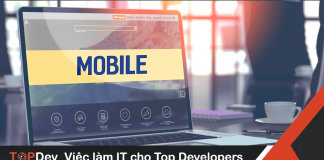 Mẫu bảng công việc lập trình Mobile