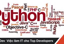 Mẫu bảng công việc lập trình Python