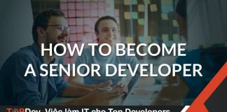 senior developer job description