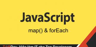 So sánh forEach và map