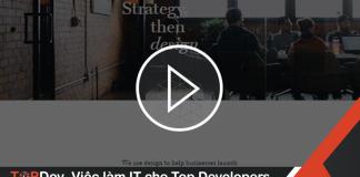 Cách tạo video background cho website