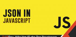 Cách sử dụng JSON.stringify() trong Javascript