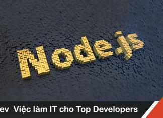 Mẫu bảng mô tả công việc lập trình NodeJS