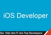 Mô tả công việc lập trình iOS mức lương hấp dẫn