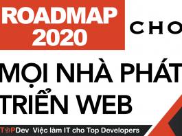 Lộ trình cho mọi nhà phát triển web trong năm 2020