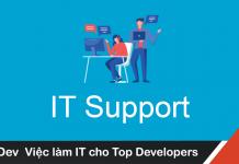 Mô tả công việc IT Support mức lương hấp dẫn