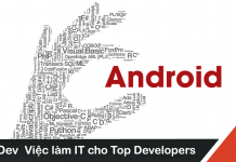 Mô tả công việc lập trình Android mức lương hấp dẫn