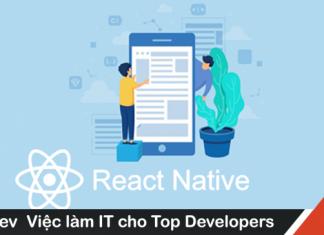 Mô tả công việc lập trình React Native mức lương hấp dẫn