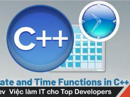 Date và Time trong C++