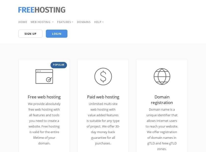 13 web hosting miễn phí dành cho lập trình viên