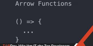 5 kinh nghiệm khi viết arrow function