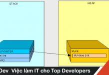 Sự khác nhau giữa bộ nhớ Heap và bộ nhớ Stack trong lập trình