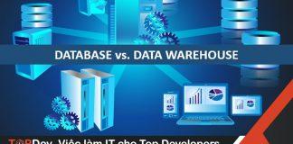 Sự khác biệt giữa Database và Data Warehouse