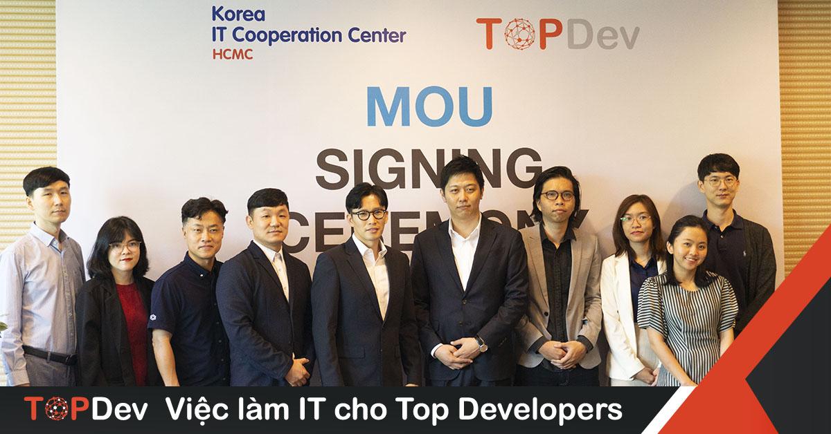 KICC HCMC chính thức hợp tác cùng TopDev phát triển nguồn nhân lực IT Việt
