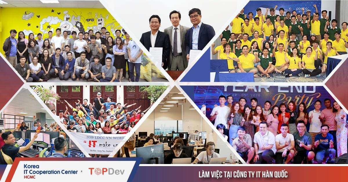 Top 7 cơ hội đến từ các công ty IT Hàn Quốc tại Việt Nam sau cái bắt tay chiến lược giũa KICC HCM và TopDev
