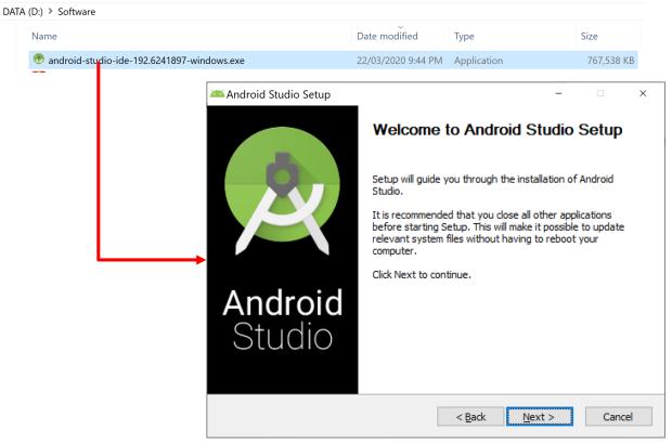 Cách cài đặt Android Studio phiên bản năm 2020