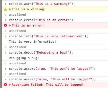 Console Javascript quá kinh khủng