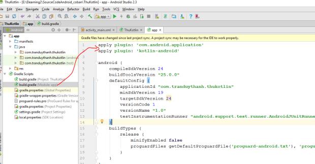 Tăng tốc lập trình Android với Kotlin