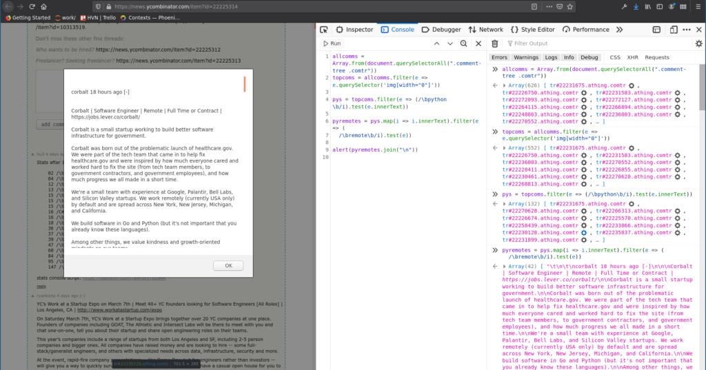 Crawl dữ liệu bằng JavaScript ngay trên trình duyệt