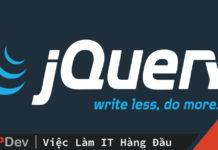 Phương thức Autocomplete của jQuery