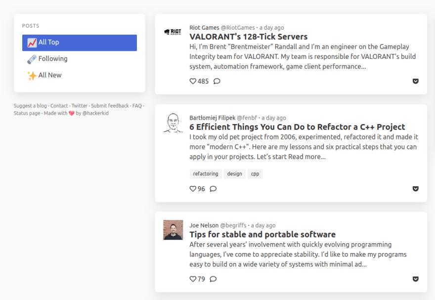 9 trang web mà bất kỳ developer nào cũng nên theo dõi