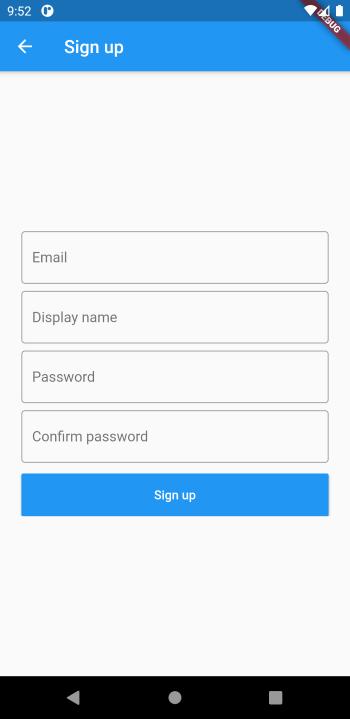 Chat app đơn giản với Flutter