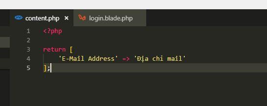 Đa ngôn ngữ đơn giản trong Laravel