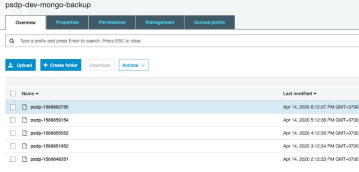 Viết một con Bash Script back up Mongo Database đơn giản
