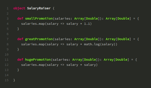 Higher Order Functions trong Scala